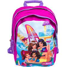 lego friends beach house kindergarten ergo backpack glabags