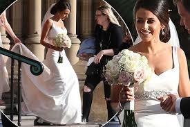 wedding dresses manchester keegan wows in a wedding dress as she shoots drama in