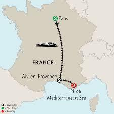 Provence France Map by Monograms Tours Paris Aix En Provence U0026 Nice 2016