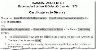 divorce templates divorce certificate template 7 free word pdf