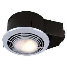 Exhaust Fan With Light For Bathroom Nutone Qt9093wh Combination Fan Heater Light Light 110 Cfm