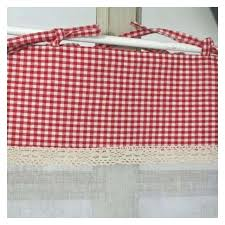 cuisine vichy decoration rideau pour cuisine brise bise cagne dacco cuisine