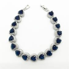aliexpress buy new arrival white gold color aaa teemi trendy heart shape blue color option aaa heart zircon