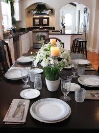 ideas for kitchen tables kitchen table setting ideas baytownkitchen