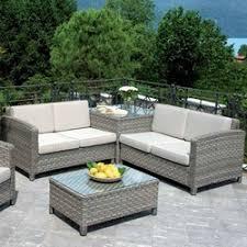 divanetti in vimini da esterno set divanetto giardino senigallia 2 divani onda tavolino cuscini