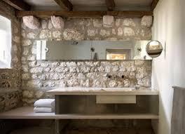 elegant rustic bathroom ideas with mirror