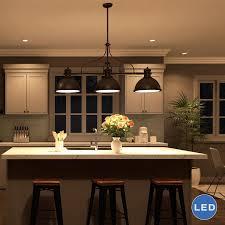 Led Kitchen Light Fixture Top 87 Peerless Led Kitchen Light Fixtures Pendant Bronze Lighting