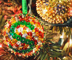 sequins ornaments 7 steps with pictures