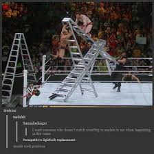 Ladder Meme - some guy explains this photo professional wrestling know your meme