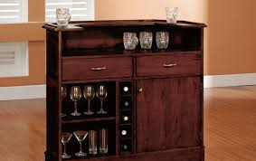 bar appealing kitchen wine bars brown wooden hutch kitchen