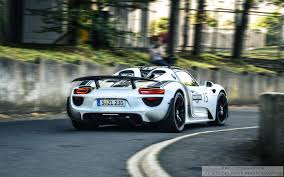 porsche martini porsche 918 spyder w weissach package using black martini cars
