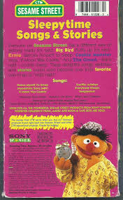 amazon com sesame street sleepytime songs and stories vhs