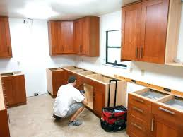 How Much Does Kitchen Cabinet Refacing Cost How Much Does Kitchen Cabinet Installation Cost Kitchen Cabinets