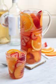 italian sangria cocktail