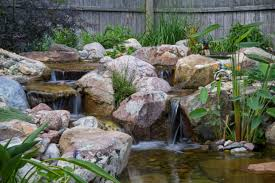 lawn u0026 garden diy backyard pondless waterfall with an amazing