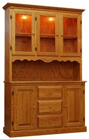 decorating cherry wood corner hutch with 4 doors for cozy home