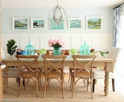 Pottery Barn Indoor Outdoor Wicker Chair Aptdeco - house tour entry hall colorful dining rooms and decking