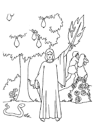 adam and eve coloring pages free coloringstar