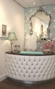 Shabby Chic Reception Desk Best Of Tufted Salon Reception Desk Quarter Circle Reception Desk