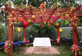 Backyard Wedding Decorations Ideas Charming Small Backyard Wedding Reception Ideas Pics Design
