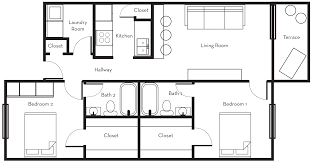 Shotgun House Plans Designs Floor Plans Roomsketcher Floor Plan Software Lucidchart Eichler