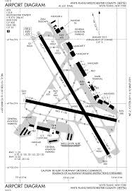 New York Airport Map Terminals by Million Air White Plains