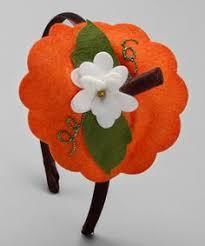 Pumpkin Costume Halloween Felt Halloween Pumpkin Halloween Costume Pumpkin Headband Hairband