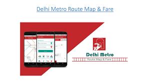Metro Blue Line Map Delhi by Delhi Metro Route Map U0026 Fare By David Dieguez Issuu