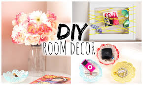 Bedroom Decorating Ideas Diy Diy Room Decor For Cheap Simple U0026 Cute Youtube
