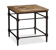 Iron Side Table Cast Iron Side Table Pottery Barn