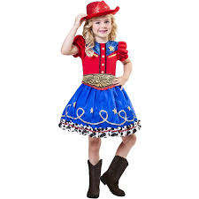Cowgirl Halloween Costumes Adults Cowgirl Cutie Child Halloween Costume Walmart