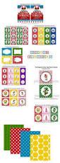print ink super mario bros bingo 10 cards diy digital