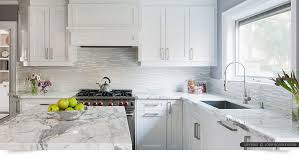 White Kitchen Tile Backsplash Modern White Marble Glass Kitchen Backsplash Tile Backsplash White