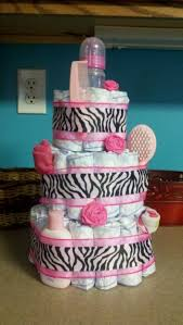 zebra diaper cake gallery picture cake design and cookies