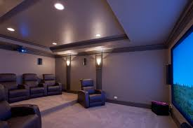 custom home theater basement basement theatre new custom homes globex