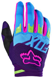 purple motocross gear fox racing dirtpaw vicious se gloves revzilla