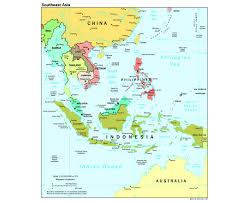 Southeast Asia Map Blank by Southeast Asia Map With Capitals Major Tourist Attractions Maps