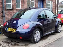 2002 volkswagen beetle herbie 2 0 se in dark blue with body decals