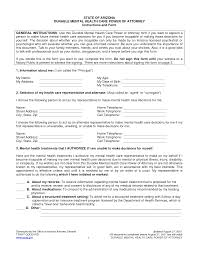 general power of attorney form attorney form templat