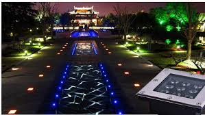 ip67 outdoor waterproof led ground paver lights with high solidity