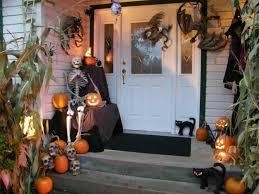 front porch halloween decoration ideas allstateloghomes com
