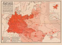 Germany On Map by Persuasive Maps