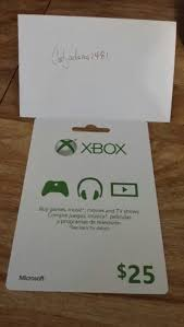 xbox live gift cards free xbox live gift card 25 prepaid cards codes