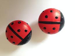 ladybird cupboard knob ladybug cupboard knob fun drawer pulls