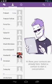 viber update support tablets stickers instant messages