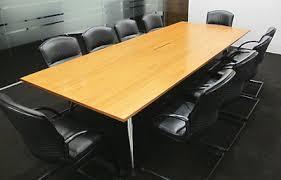 Vitra Boardroom Table Medamorph Teak Designer Boardroom Conference Table 10 X Giroflex