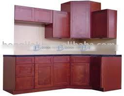 Shaker Cherry Kitchen Cabinets Cherry Shaker Kitchen Cabinets With Shaker Cherry Image 1 Of 16
