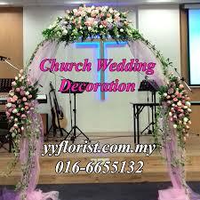 wedding arch kl wedding church decor kl florist kuala lumpur online florist