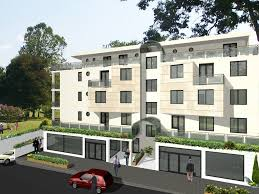 Residential Building Elevation Conception For Residential Building In Switzerland Angelina