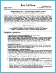 Best Project Manager Resume Marvelous Things To Write Best Business Development Manager Resume